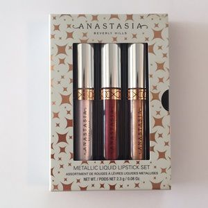 Anastasia metallic liquid lipstick set